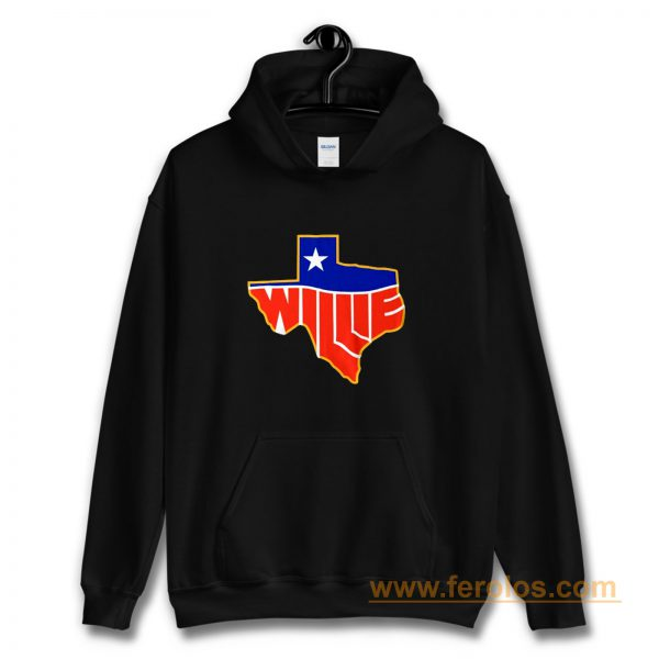 Willie Nelson Lone State Hoodie
