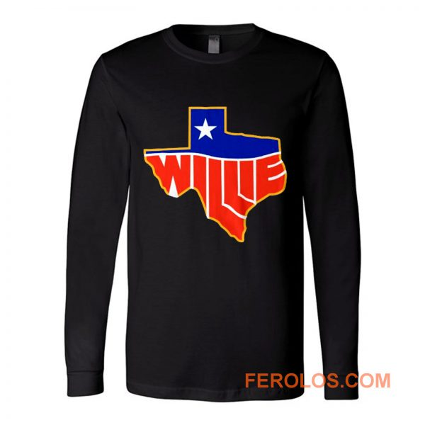Willie Nelson Lone State Long Sleeve