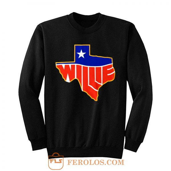 Willie Nelson Lone State Sweatshirt