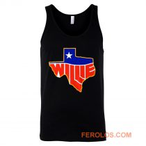 Willie Nelson Lone State Tank Top