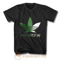 Wolrd Dopest Dad T Shirt