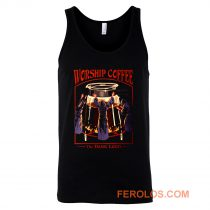 Worship Coffee Ritual Funny Tank Top