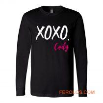 XOXO Cody Funny Quotes Long Sleeve