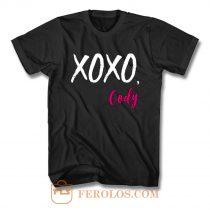 XOXO Cody Funny Quotes T Shirt