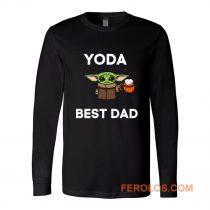 Yoda Best Dad Long Sleeve