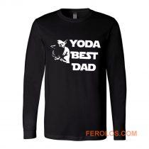 Yoda Best Dad Master Yoda Star Wars Long Sleeve