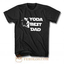 Yoda Best Dad Master Yoda Star Wars T Shirt