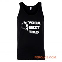 Yoda Best Dad Master Yoda Star Wars Tank Top