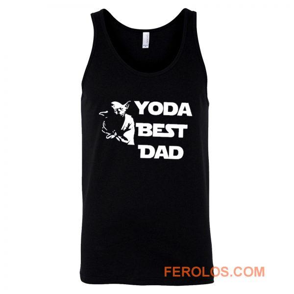 Yoda Best Dad Master Yoda Star Wars Tank Top