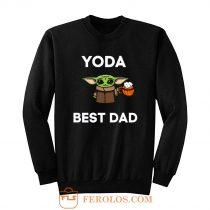 Yoda Best Dad Sweatshirt