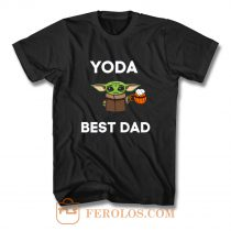 Yoda Best Dad T Shirt