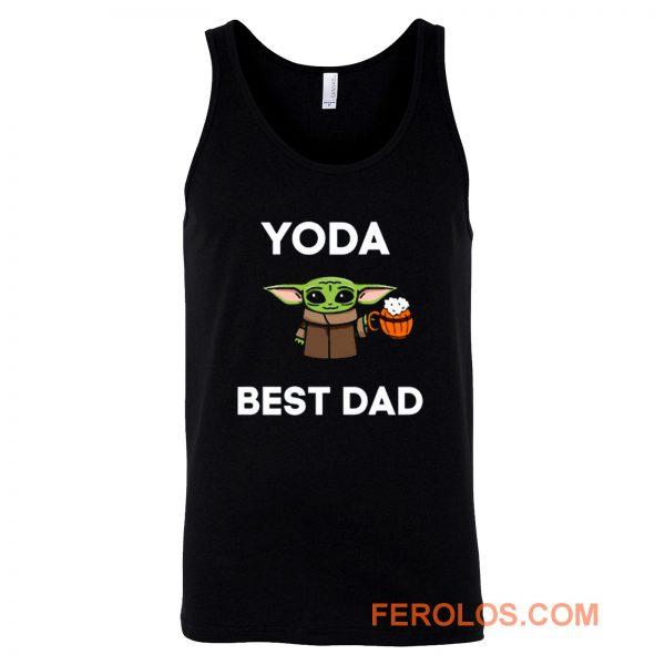 Yoda Best Dad Tank Top