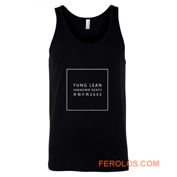 Yung Lean Unknown Death Tank Top