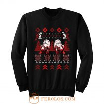 Zero Two Christmas Darling in the Franxx Sweatshirt