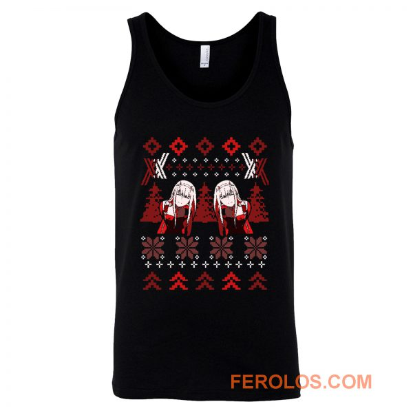 Zero Two Christmas Darling in the Franxx Tank Top