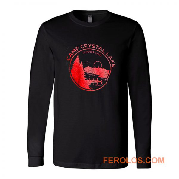 1980 Camp Crystal Lake Counselor Long Sleeve