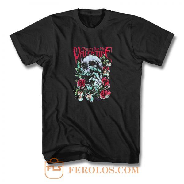 2010 Logo Bullet For My Valentine T Shirt