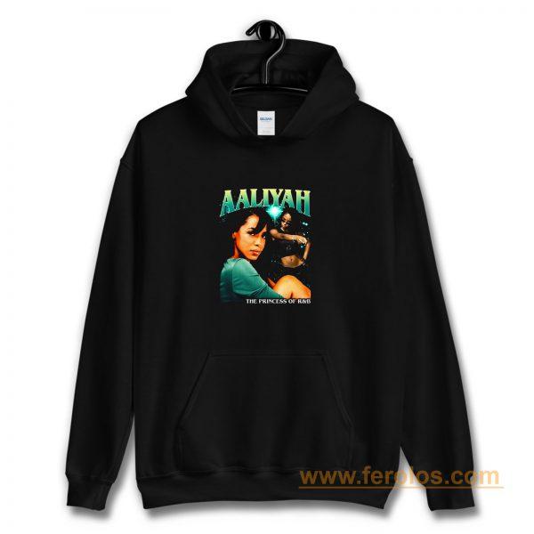 Aaliyah Cover Tour Vintage Hoodie