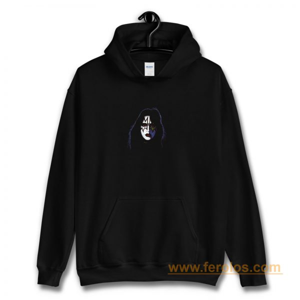 Ace Frehley Face Makeup Hoodie