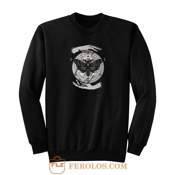 Alchemy Butterfly Occult Sweatshirt