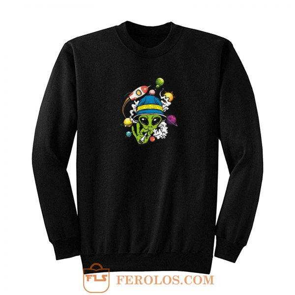 Alien Smooking Sweatshirt