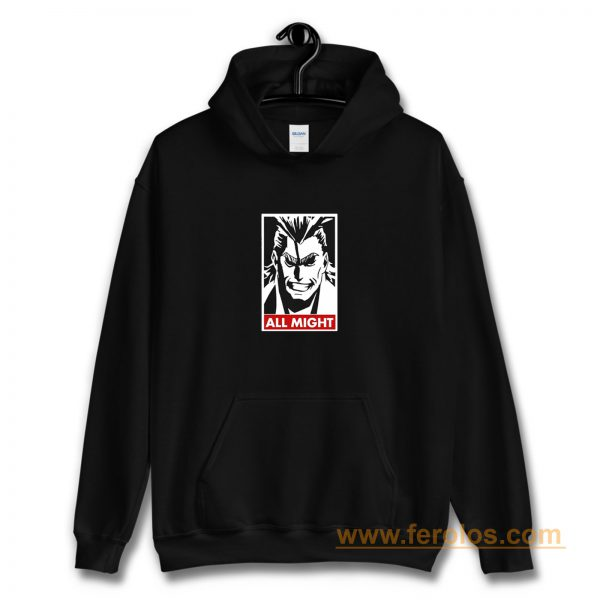 All Might My Hero Academia Hoodie
