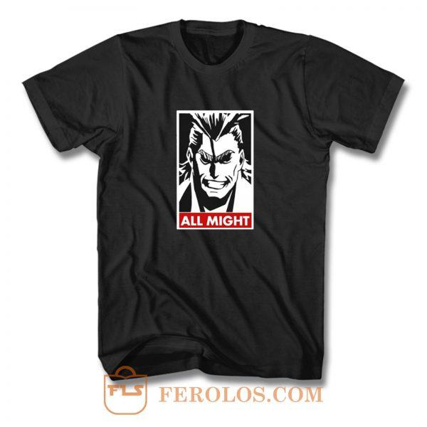 All Might My Hero Academia T Shirt