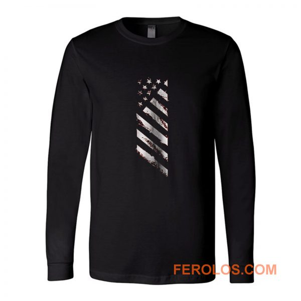 American Line Patriotic Usa Flag Long Sleeve