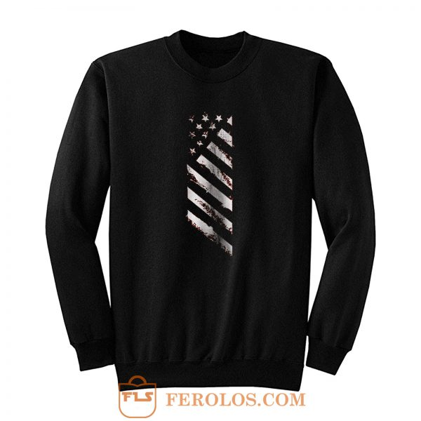 American Line Patriotic Usa Flag Sweatshirt