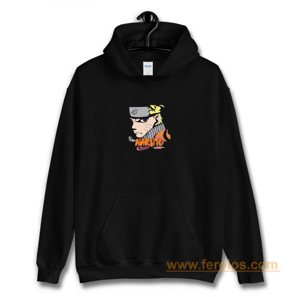 Angry Face Little Naruto Hoodie
