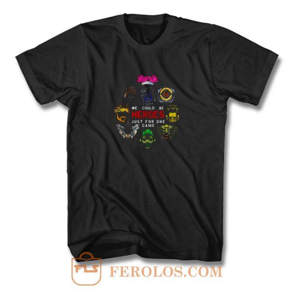 Apex Characters Gaming T Shirt