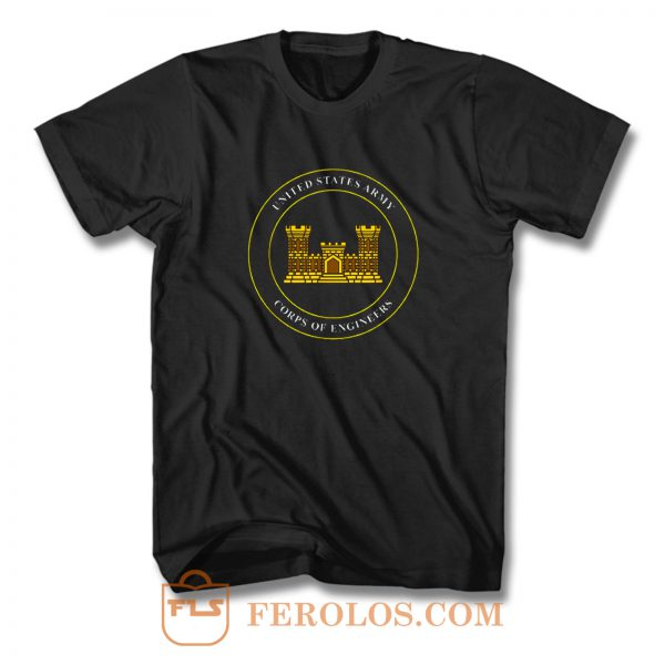 Army Corps Of Engineers Usace T Shirt