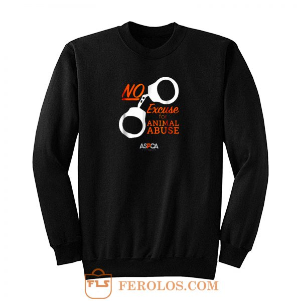 Aspca Retro Dark No Excuse Sweatshirt