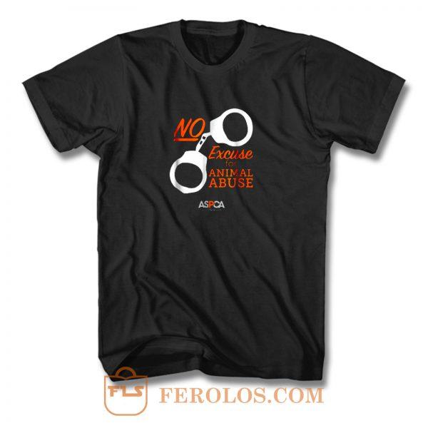 Aspca Retro Dark No Excuse T Shirt