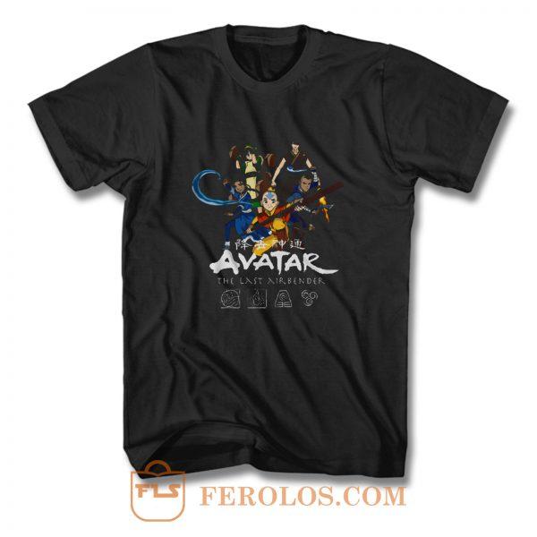 Avatar The Last Airbinder Group T Shirt