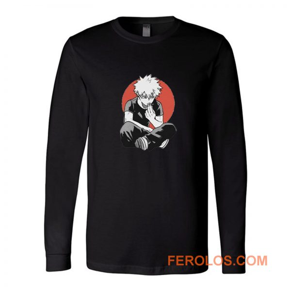 Bakugo Todoroki My Hero Academia Japan Anime Long Sleeve