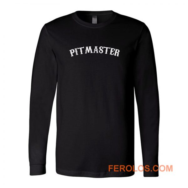 Bbq Pitmaster Chef Dad Fathers Day Long Sleeve