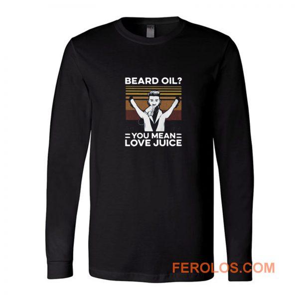 Beard Oil Love Juice Vintage Long Sleeve
