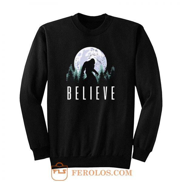 Believe Nature Moonlight Big Foot Sweatshirt