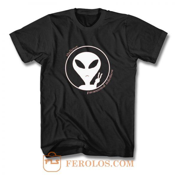 Believer Slideside Alien T Shirt