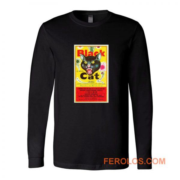 Black Cat Fireworks Long Sleeve