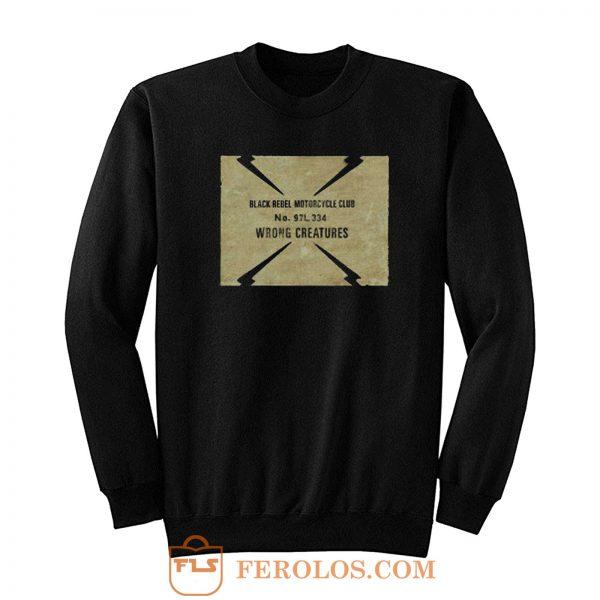 Black Rebel Motorcycle Club Sweatshirt