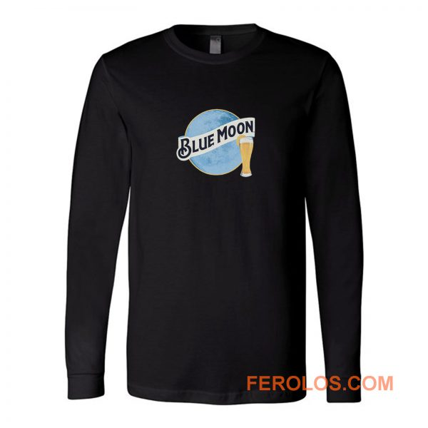 Blue Moon Beer Long Sleeve