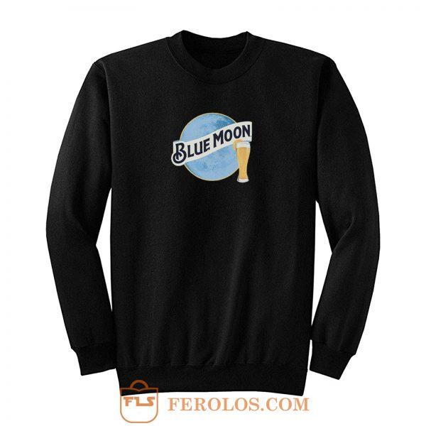 Blue Moon Beer Sweatshirt