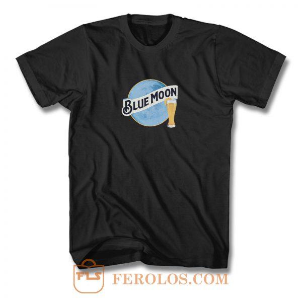 Blue Moon Beer T Shirt