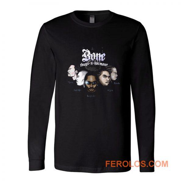 Bone Thugs N Harmony Rap Hip Hop Music Long Sleeve