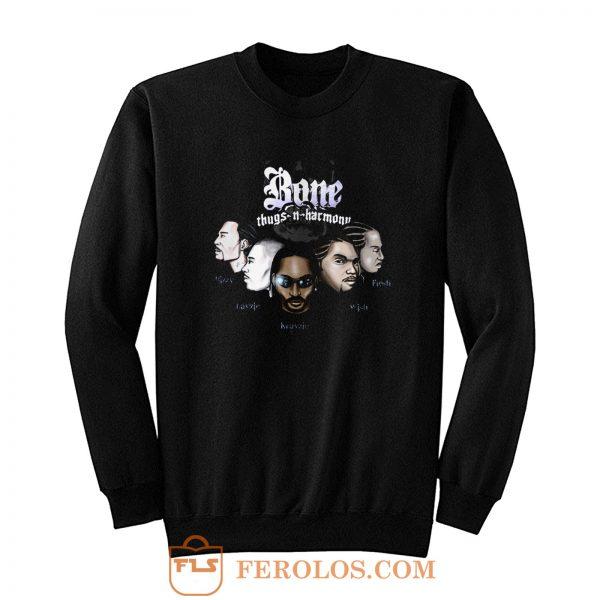 Bone Thugs N Harmony Rap Hip Hop Music Sweatshirt
