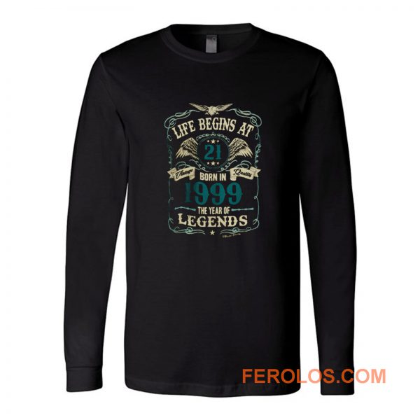 Born In 1999 Year Of Legends Long Sleeve