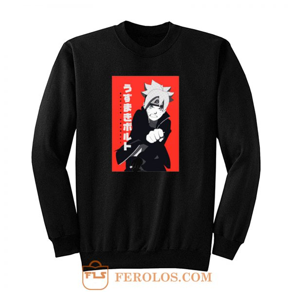 Boruto Uzumaki Next Generation Anime Sweatshirt