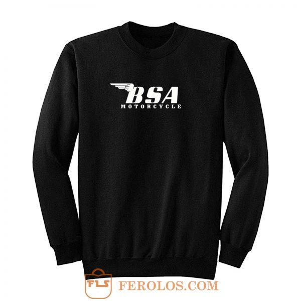 Bsa Motorcycle Retro Sweatshirt